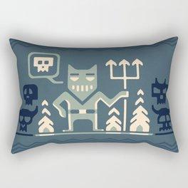 Skull collector Rectangular Pillow