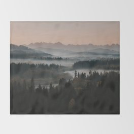 Good Morning! - Landscape and Nature Photography Throw Blanket
