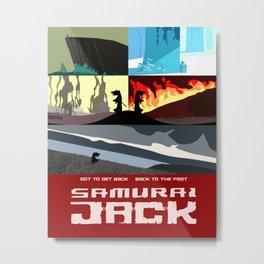 Samurai Jack Metal Print
