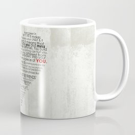 I hate love Coffee Mug