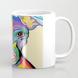 Greyhound Close Up Coffee Mug