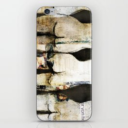 Po-Collage iPhone Skin
