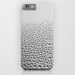 window VIEW - the beauty of a rainy day iPhone Case