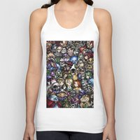 the legend of zelda Tank Tops featuring The Legend of Zelda by Sandra Ink