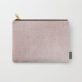 Light Pink Glitter Carry-All Pouch