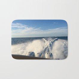 Ocean Boating Bath Mat