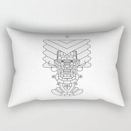 Herbal Soldier Rectangular Pillow