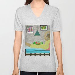 Bed and Breakfast Unisex V-Neck