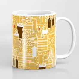 Beer Pattern | Oktoberfest Hops Malt Brewery Coffee Mug