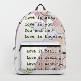 The Little Angel - Love Message Backpack