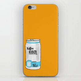 koffee kolsh iPhone Skin