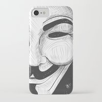 anonymous iPhone & iPod Cases featuring Anonymous by nicole carmagnini
