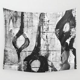 Abstract Experimentation V 1.0 Wall Tapestry