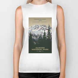Glacier National Park Biker Tank