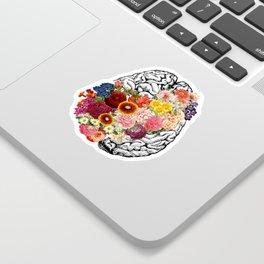 Love Your Brain Sticker