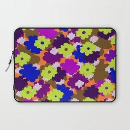 Fall Fun Flowers Laptop Sleeve