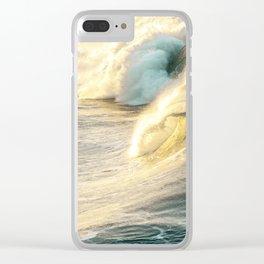Nautical Crash Clear iPhone Case
