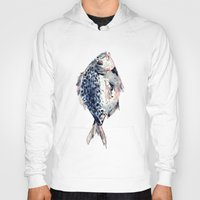 fairytale Hoodies featuring Fairytale Fish by Christie Rainey