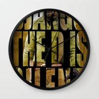 django Wall Clocks featuring Django Unchained by SB Art Productions