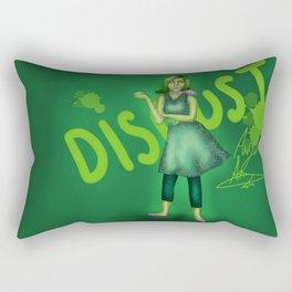 Helo, Meet Disgust  Rectangular Pillow