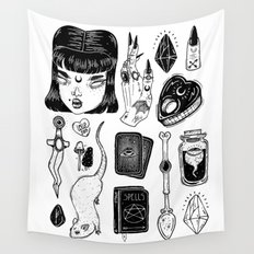 teen Witch Wall Tapestry