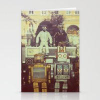 robots Stationery Cards featuring Robots by GF Fine Art Photography