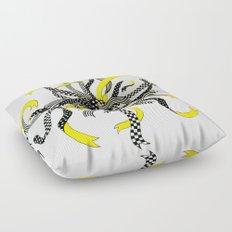 Swirling Ribbons Floor Pillow