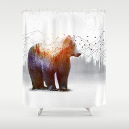 A Wilderness Within / Bear Shower Curtain