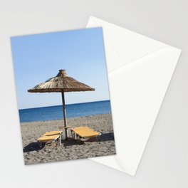 Agia Galini Beach Stationery Cards