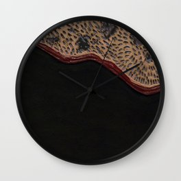 Coyotes (Fur) Wall Clock