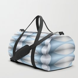 Diamond Geometrics Light Blue Duffle Bag