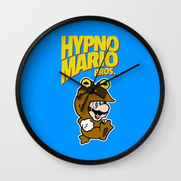 HypnoMario Bros Wall Clock