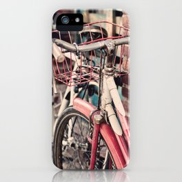 Bicycles iPhone Case