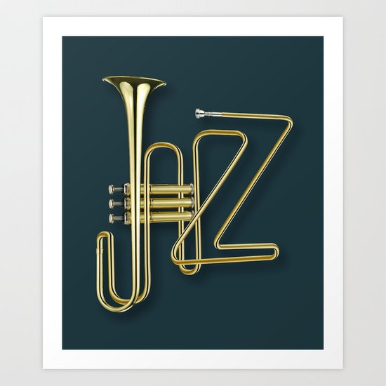 Virtuous Jazz Art Print