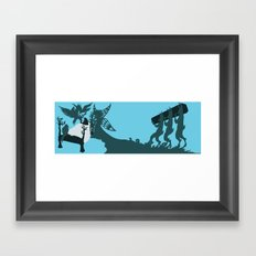 Pinocchio and the Blue Fairy 2 Framed Art Print