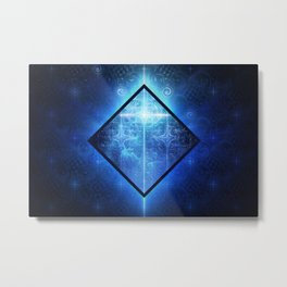A Star Will Guide You Through the Dark of Winter Metal Print