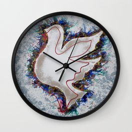 My sweet dove 02 Wall Clock