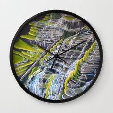 Catawba Falls Wall Clock