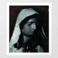 A Humble Mother Art Print