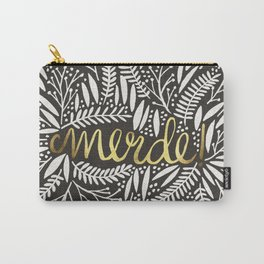 Pardon My French – Gold on Black Carry-All Pouch