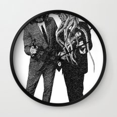 The Made Us Detectives (1979) Monochrome Wall Clock