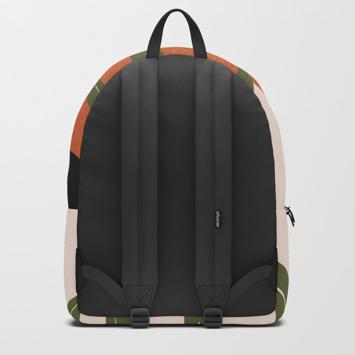 Abstract Female Figure 20 Backpack