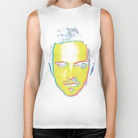 "jesse pinkman Biker Tanks featuring Breaking Bad ""Jesse Pinkman"" by Steal This Art"