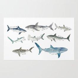 Sharks Rug