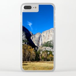 Yosemite Falls from Yosemite Valley Clear iPhone Case
