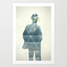 the_horror Art Print