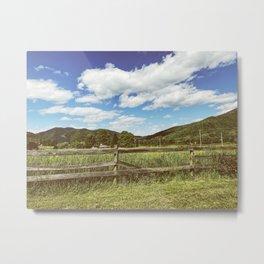 Fencing •Appalachian Trail Metal Print