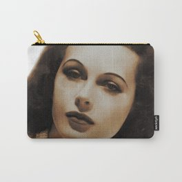 Hedy Lamarr, Hollywood Legends Carry-All Pouch