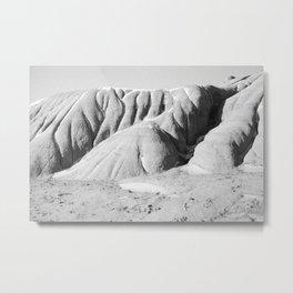 Badlands in Drumheller Metal Print