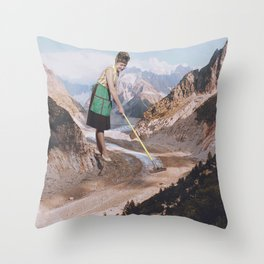 PAST INVADER Throw Pillow